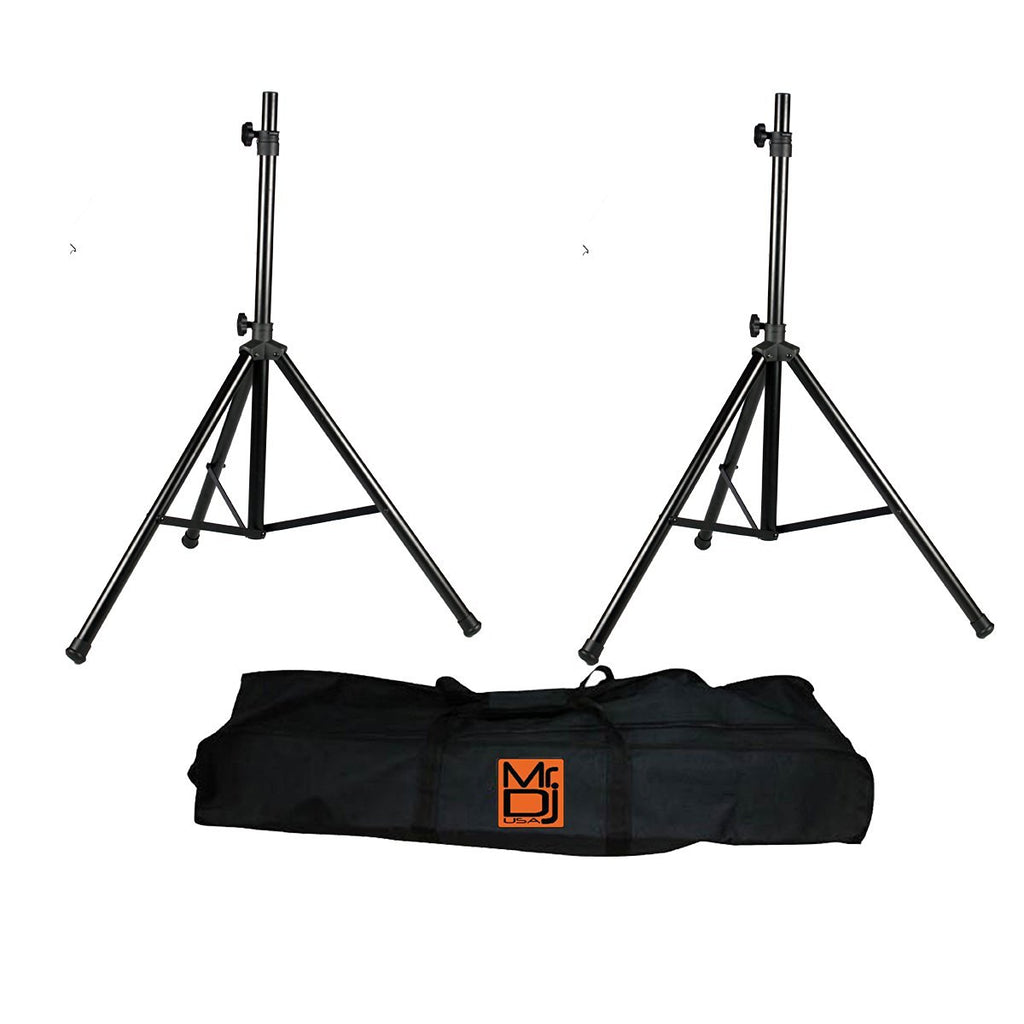 MR.DJ SS650PKG TRIPOD SPEAKER STAND PACKAGE WITH BAG