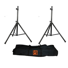 Load image into Gallery viewer, MR.DJ SS650PKG TRIPOD SPEAKER STAND PACKAGE WITH BAG