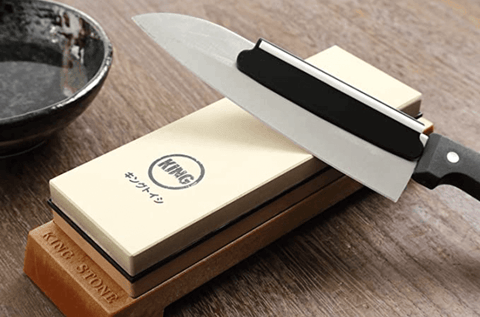 KING 1000 6000 grit whetstone for knife sharpening