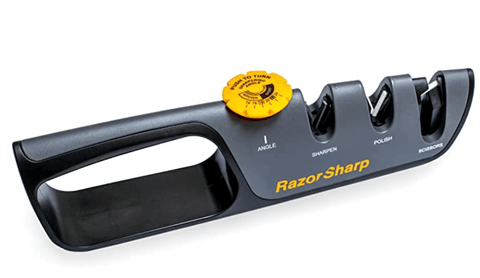RAZORSHARP pull through knife sharpener
