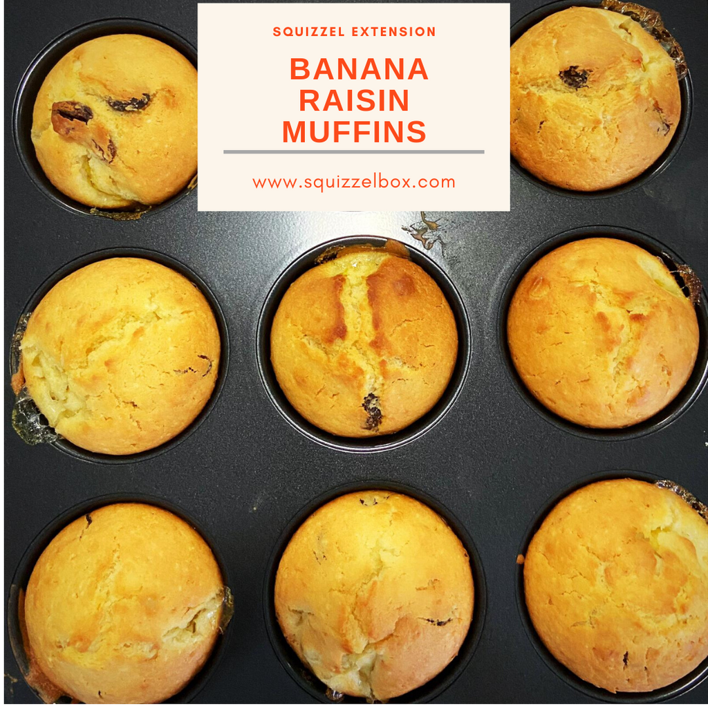 Kid-Friendly Banana Raisin Muffin Recipe