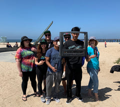 HPC Beach Cleanup with Airopro and Love Earth