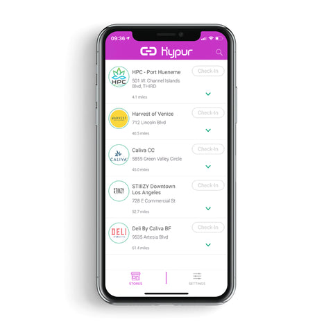Hypur interface on the iPhone