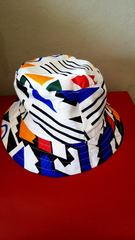 Ndebele Kese Bucket Hats by Tribe Afrique