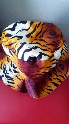 African Leopard  Bucket Hats by Tribe Afrique