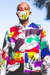 Mim African Bomber Jackets with Mask