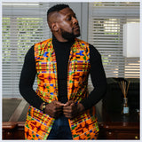 Kente Overcoat by Tribe Afrique.