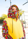 Ogya African Hoodie with 3-Ply Mask