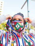 Original Ndebele African Hoodie by Tribe Afrique