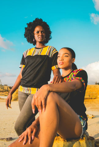 Yellow Venda Jika African Shirt by Tribe Afrique