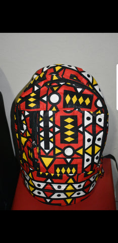 Ogya Laptop Backpacks (With Mask) by Tribe Afrique