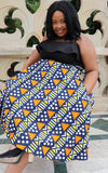 Nkonta High Waist Skirt by Tribe Afrique (With Pockets)
