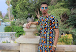 Nkonta Unisex African Long Shirt by Tribe Afrique