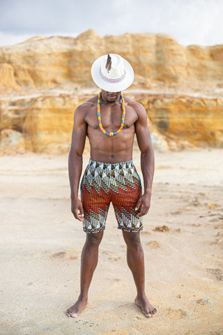 Emakhaya African Shorts by Tribe Afrique