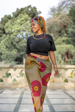 Lashibi Pants by Tribe Afrique (With Matching Mask)