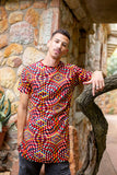 Lethu African Long Shirt by Tribe Afrique