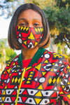 Ogya Mask by Tribe Afrique - 3 Ply Only