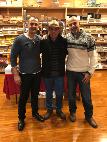 Mclean CigarTown Event with Master Roller and Blender Adel Sanchez Gomez