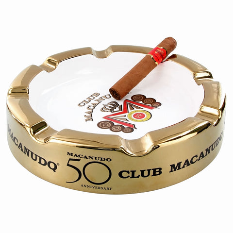 Club Macanudo 50th Anniversary 8-Cigar Ashtray