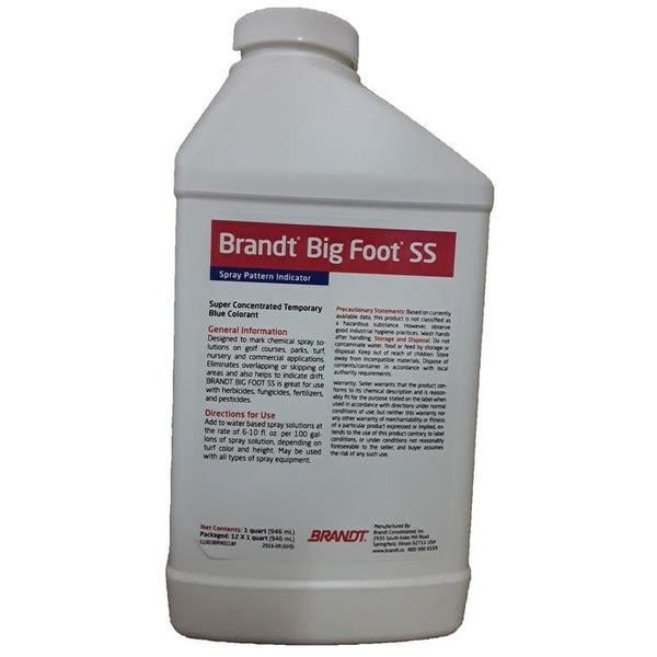 Big Foot SS Blue Spray Indicator | Quart Size