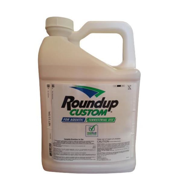 Roundup Custom for Aquatic & Terrestrial Use | Glyphosate | 2.5 Gallon