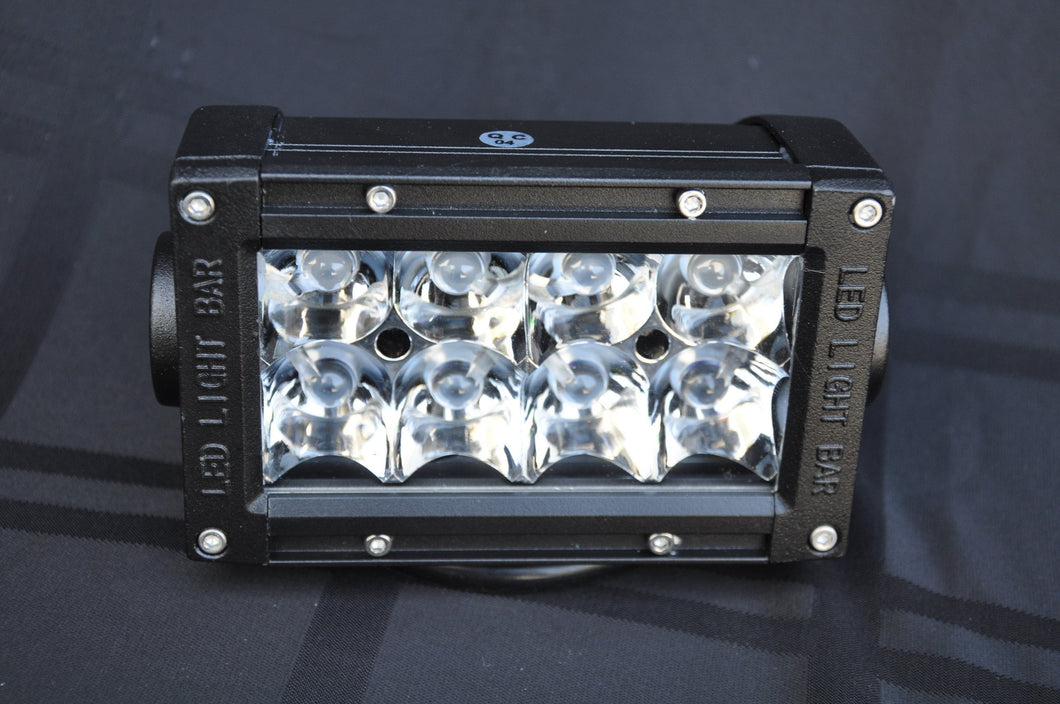 5 Inch Light Bar 24W Flood/Spot 3W LED Chrome DV8 Offroad