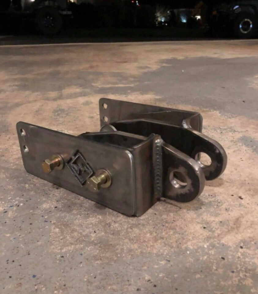 Excessive Industries Jeep JK/JKU Frame Only Shackle Points (Rear)
