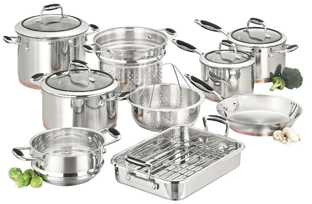 Scanpan Coppernox 9pc Cookset