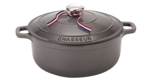 Chasseur Round French Oven 28cm / 6.3lt - Caviar