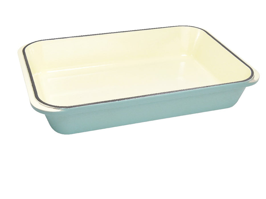 Chasseur Rect. Roasting Pan 40x26cm - Duck Egg Blue