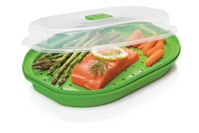 Progressive Microwave Fish and Veggie Steamer