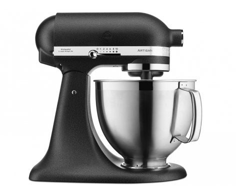 KitchenAid KSM177 Stand Mixer - Cast Iron Black