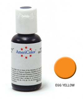 Americolor Soft Gel Paste 0.75oz/21.3g - Egg Yellow