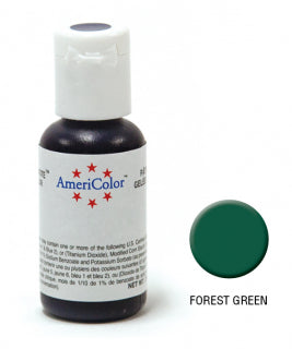 Americolor Soft Gel Paste 0.75oz/21.3g - Forest Green