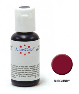 Americolor Soft Gel Paste 0.75oz/21.3g - Burgundy