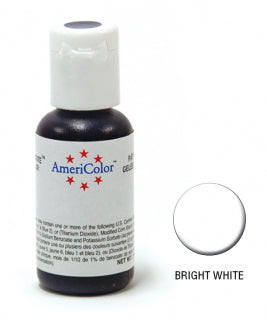 Americolor Soft Gel Paste 0.75oz/21.3g - Bright White