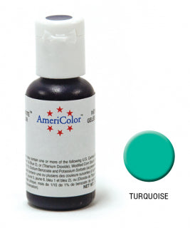 Americolor Soft Gel Paste 0.75oz/21.3g - Turquoise