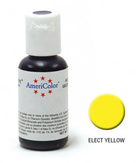 Americolor Soft Gel Paste 0.75oz/21.3g - Electric Yellow