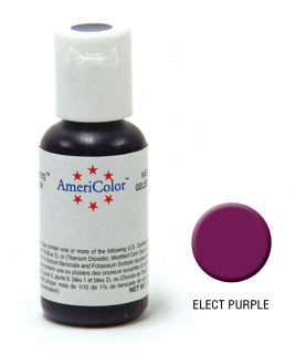 Americolor Soft Gel Paste 0.75oz/21.3g - Electric Purple