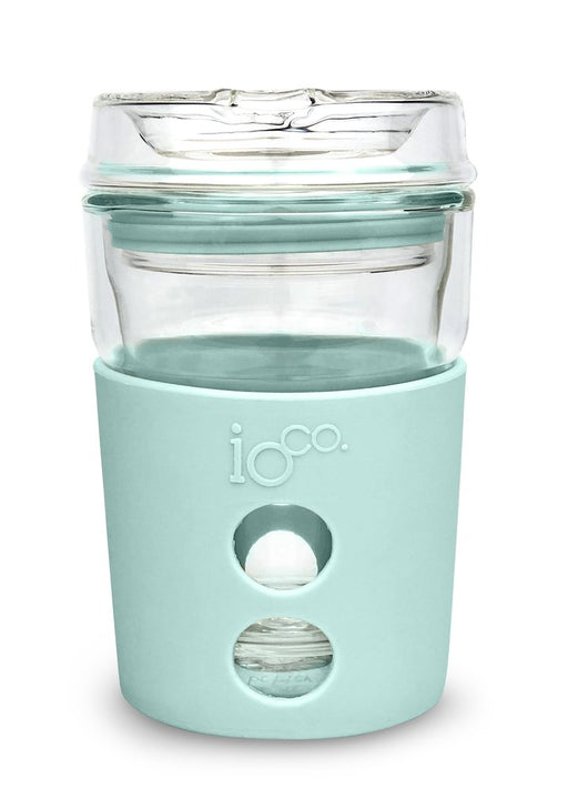 Ioco Glass Travel Mug 8oz - Mint