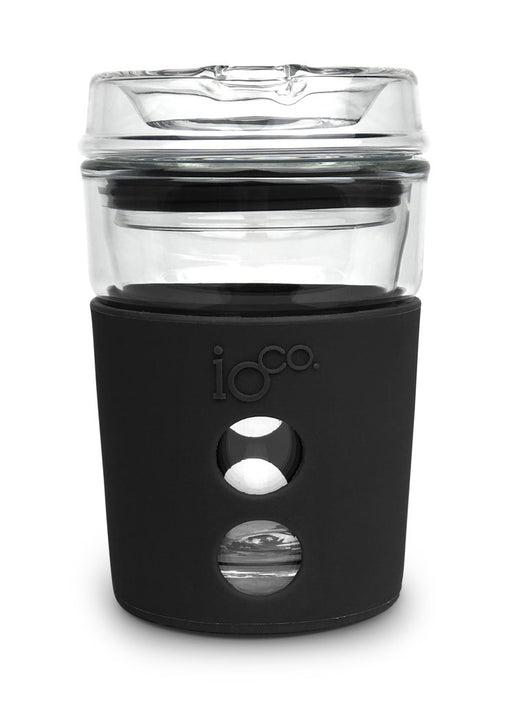 Ioco Glass Travel Mug 8oz - Black