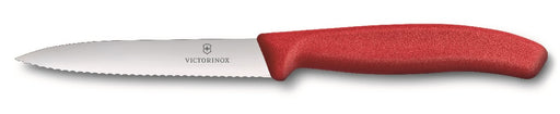 Victorinox Vegetable Knife 10cm Serrated - Red