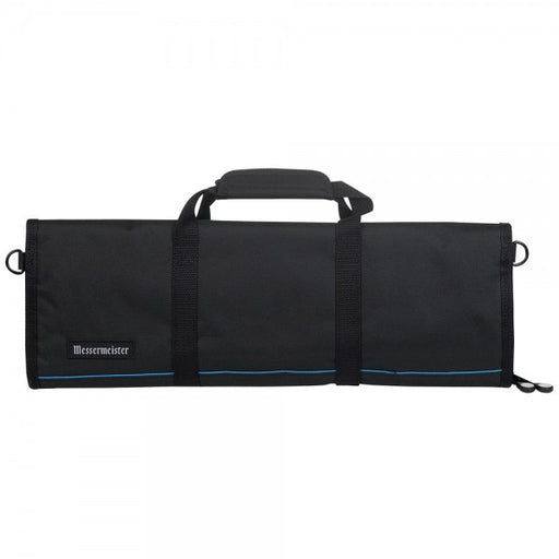 Messermeister Black Knife Roll - 12 Pocket