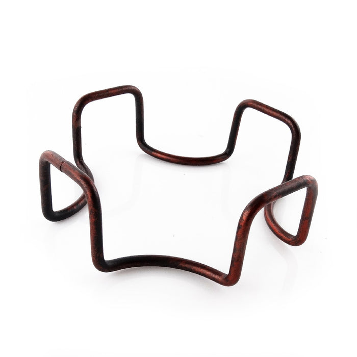 Thirstystone Holder Square Wrought Iron - Bronze
