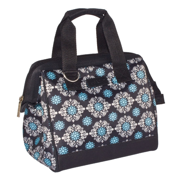 Sachi Insulated Lunch Bag - Black Medallion