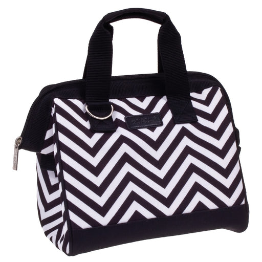 Sachi Insulated Lunch Bag - Chevron Stripe