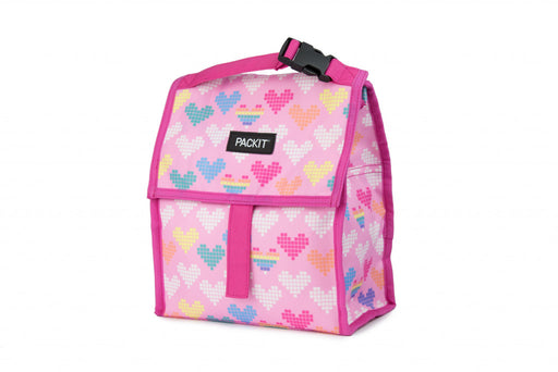 Packit Freezable Lunch Bag - Pixel Hearts