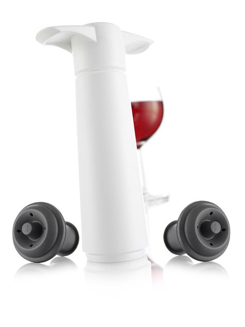 Vacu Vin Wine Saver (2 stopper) - White