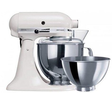 KitchenAid KSM160 Stand Mixer - White