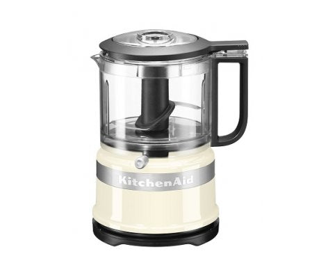 KitchenAid Mini Food Processor 3.5 Cup - Almond Cream